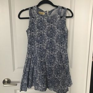 Dresses & Skirts - Blue and white floral dress